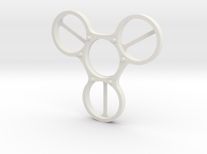 Undercover (Top Half) - Fidget Spinner 3d printed
