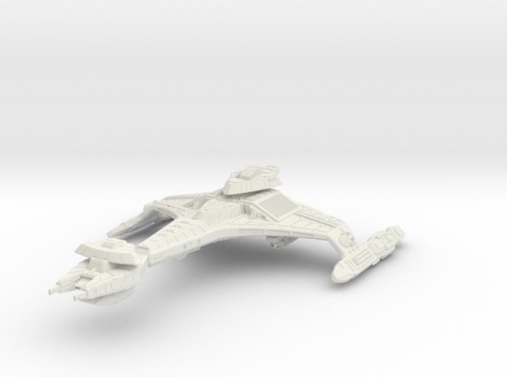 """Vor'cha Class Refit BattleCruiser 3.3"""" 3d printed"""