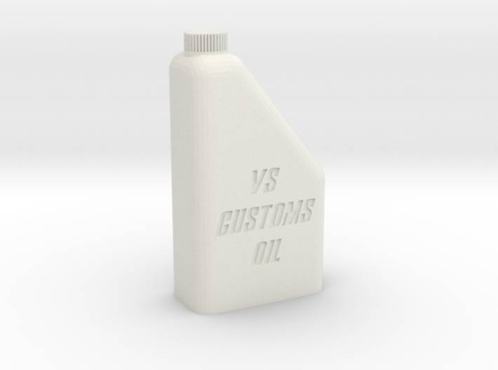 1/10 1L Oil Bottle 3d printed