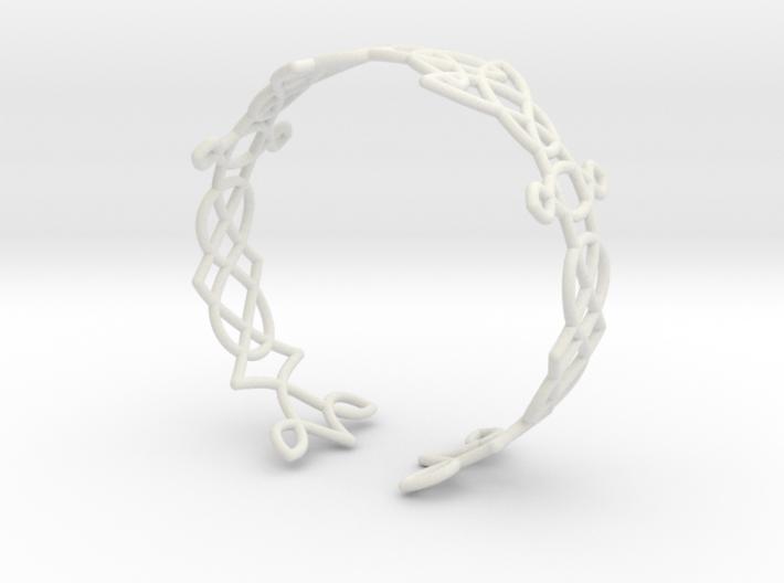 Celtic knots Cuff 3  3d printed