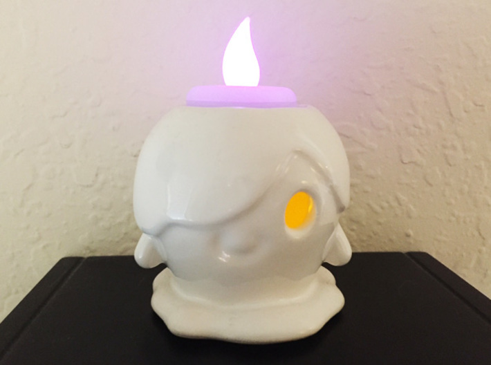 Candle Ghost Tea Light Holder 3d printed