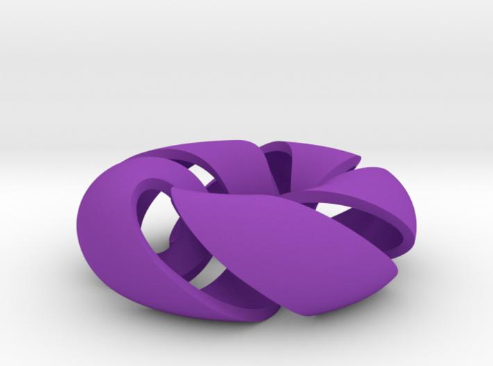Cinquefoil Torus 3d printed
