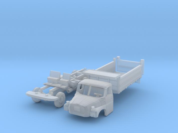 Tatra 148 S3 Dreiseitenkipper (N 1:160) 3d printed