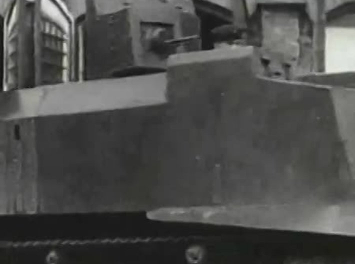 1/35 Odessa Tank (NI) T-26 Turret For Hull Type 1 3d printed