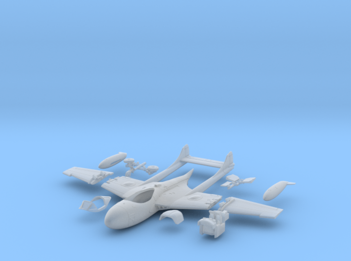 024B Sea Venom with Folded Wings - 1/144 3d printed
