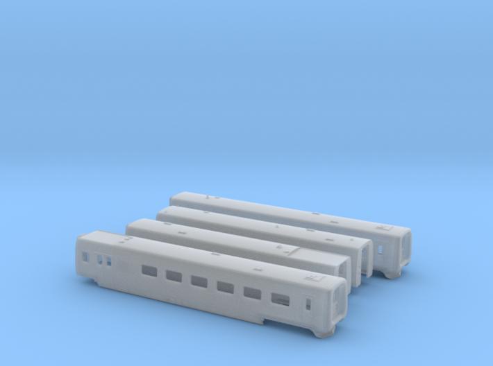 DSB IR4 N [4x body] 3d printed