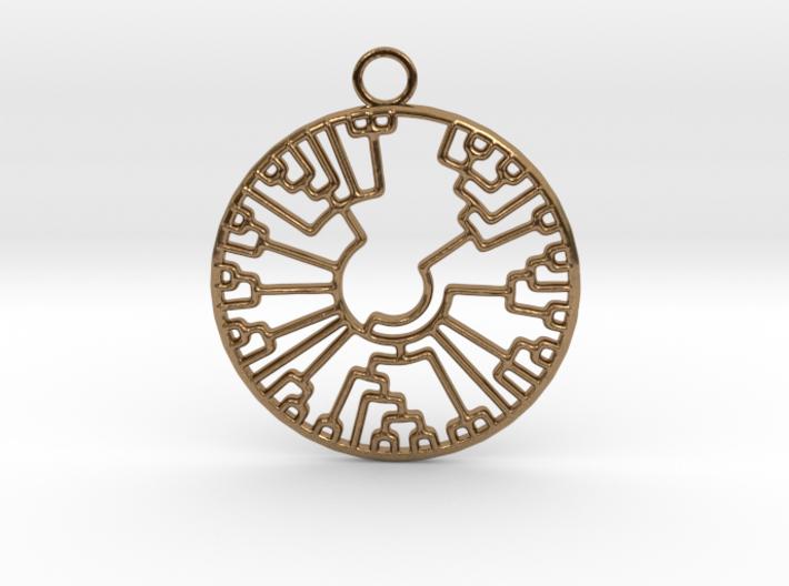 Phylogenetic Tree 3d printed