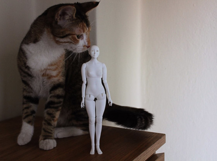 Ball Jointed Doll 3d printed