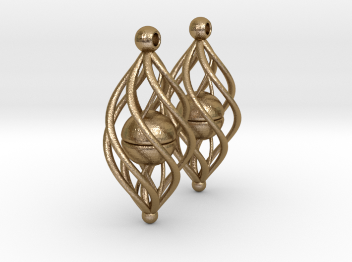 Earring Model A1 Pair 3d printed