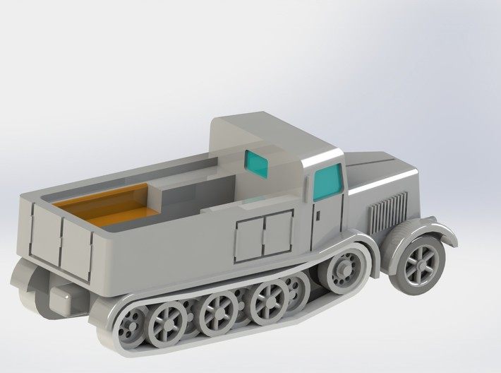 SdKfz. 8 12to Prime Mover Variant 1/285 6mm 3d printed