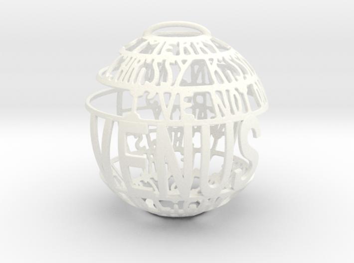 Venus Quotaball 3d printed