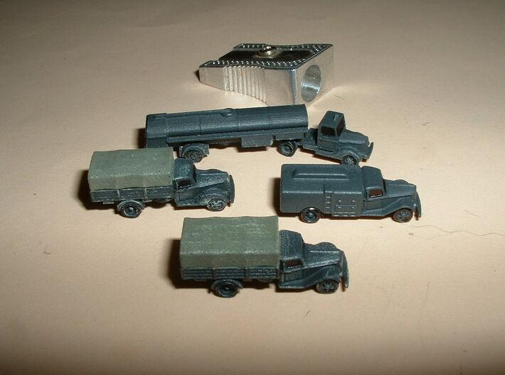 German Ford V3000S Trucks 1/285 6mm 3d printed