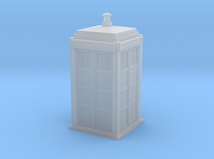 BDHO-0002 TARDIS-1/87 Scale 3d printed