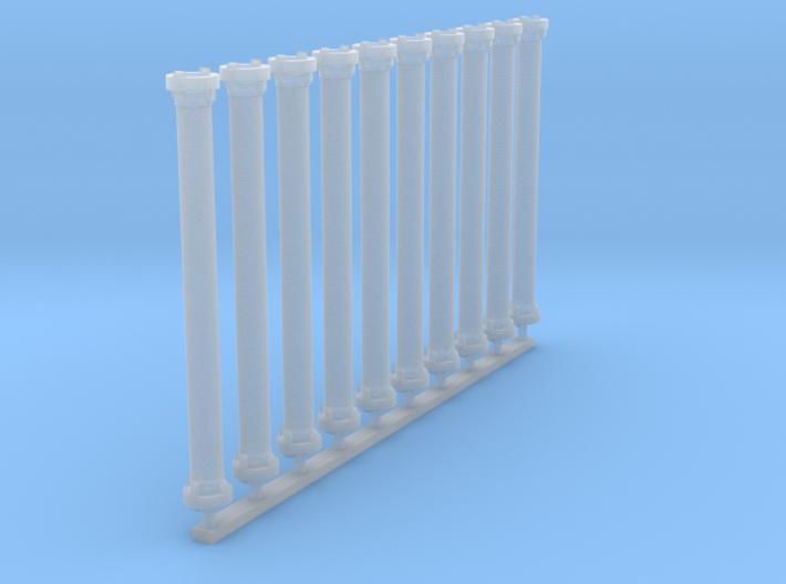 A-Saugschlauch (Gummiert) 3d printed