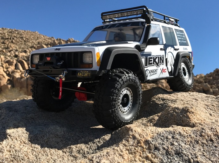 AC10007 SCX10 II XJ CHEROKEE Snorkel 3d printed Snorkel shown fitted to the Axial XJ (sold separately).