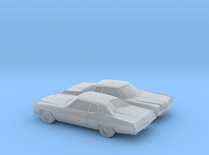 1/160 2X 1971 Chevrolet Impala Custom Coupe 3d printed