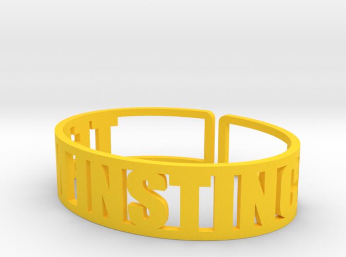Team Instinct 3d printed