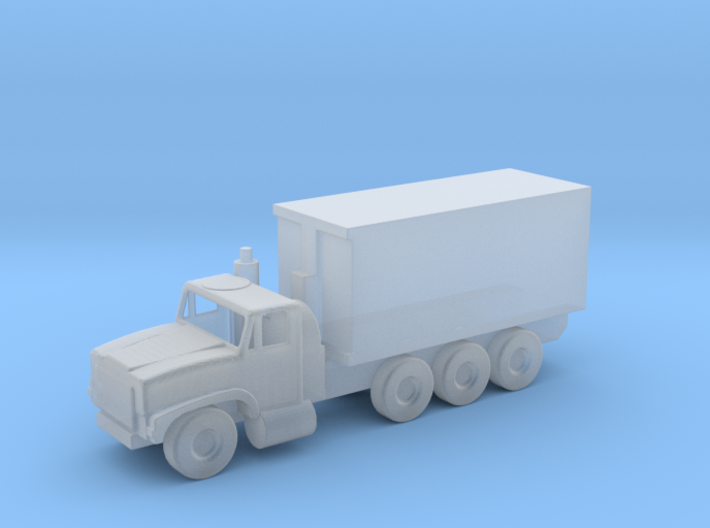 1/144 Scale Oshkosh MTVR 16 Ton Container Truck 3d printed