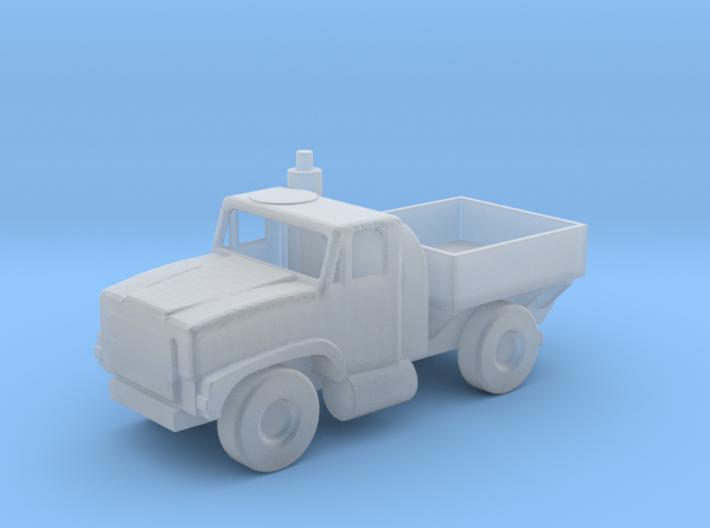 1/144 Scale Oshkosh 4x4 MTVR Cargo Truck 3d printed