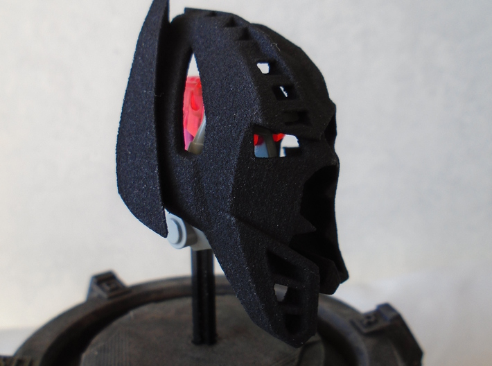 The Mask Of Light And Shadows 3d printed