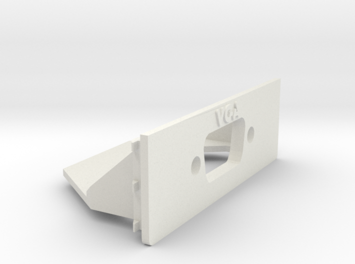A1200 Rear Expansion VGA Casemount 3d printed