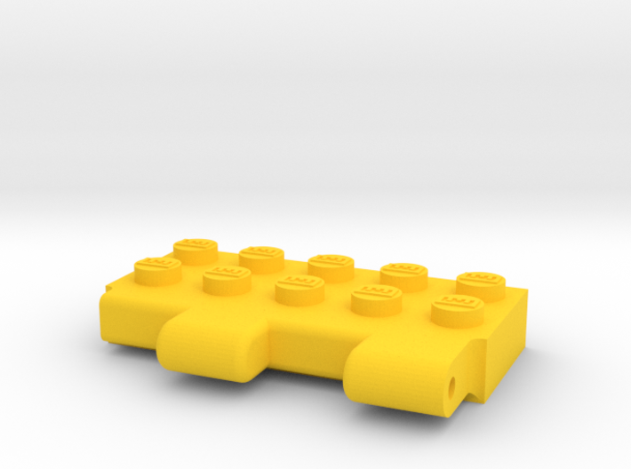 Titans Return LEGO Adapter 3d printed