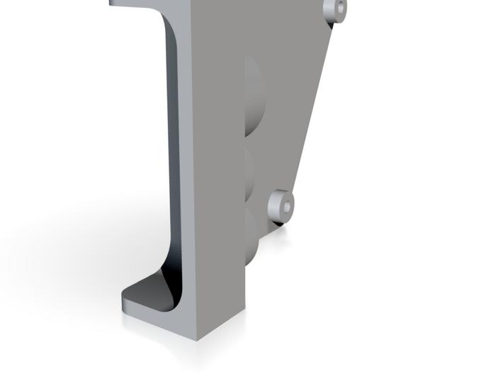 Left Rear Inner (SCX-10 II) 3d printed