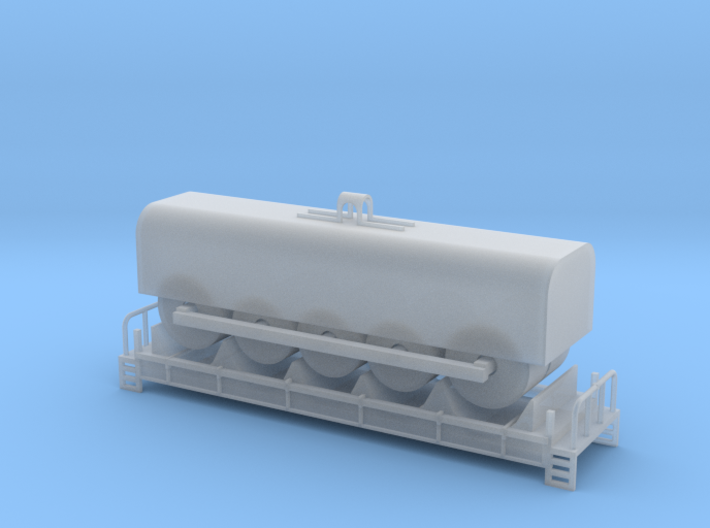 Coil Car - Z Scale 3d printed
