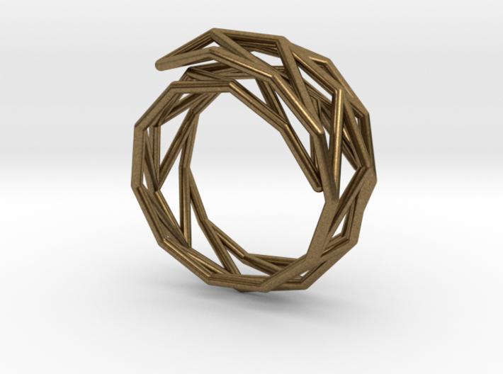 Spiral Frame* - M size 3d printed