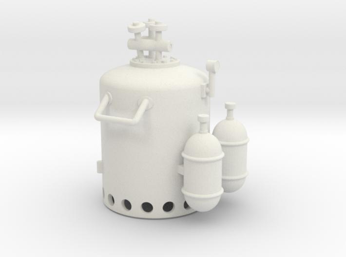 Vosper Smoke Generator 1/30 Scale 3d printed