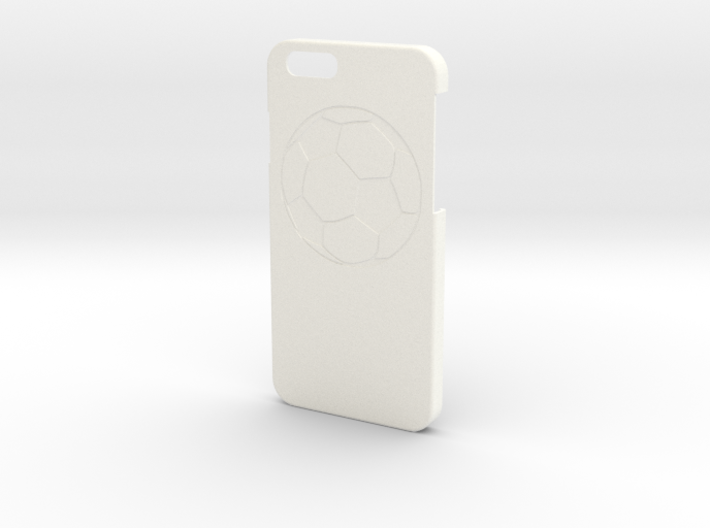 Iphone 6 Case - Name On The Back - Soccer 3d printed