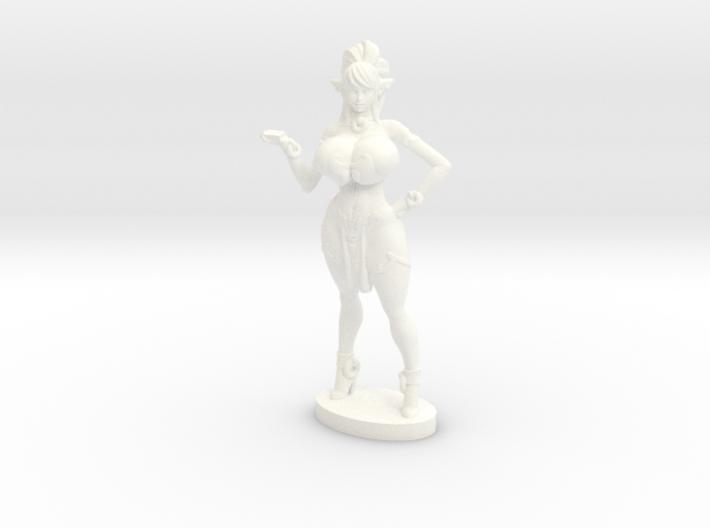 Syx w Magical card deck - 40 mm Mini plastic 3d printed