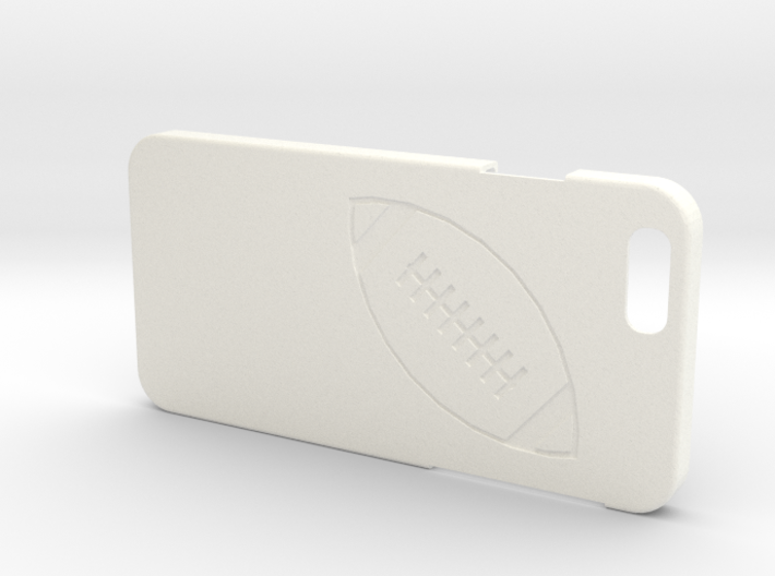 Iphone 6 Case - Name On The Back - Football 3d printed