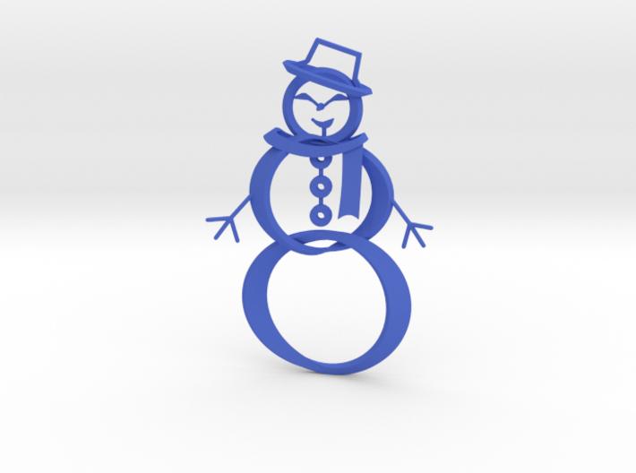 Snowman ornament 3d printed