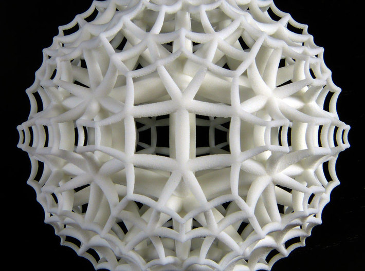 {4,3,5} H³ Honeycomb 3d printed