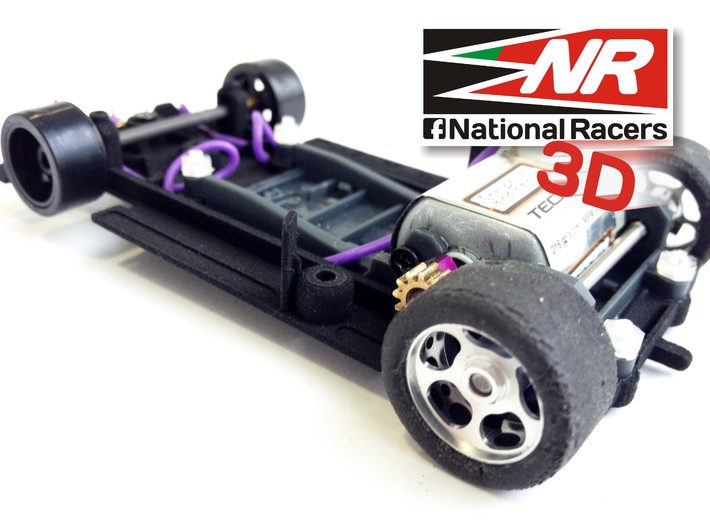 3D chassis for Sloter Lola T280/290 (SW) 3d printed