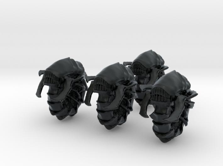 Absorberwurm 4 Cluster Sichelbiss Zu Rollend Meter 3d printed