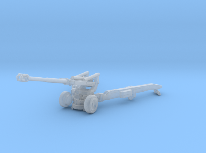 1/144 Scale M198 155mm Howitzer 3d printed
