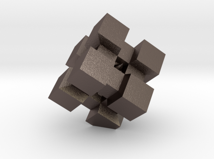 WeightCube Paperweight 3d printed