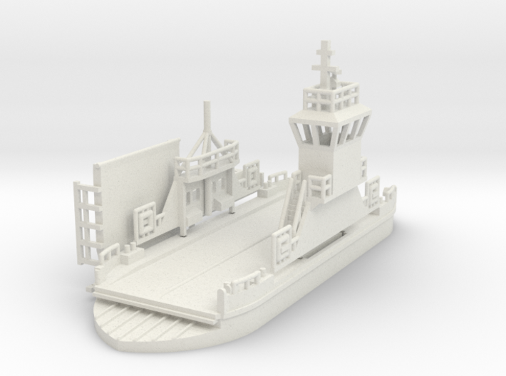 kleine Autofähre / Ferry - 1:87 (H0 scale) 3d printed