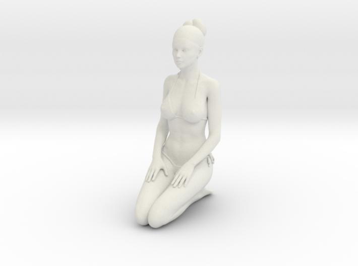 1:24 1:10 Bikini Girl 008 3d printed