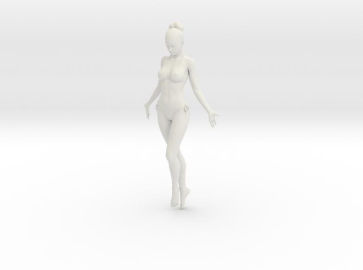 1:24 1:10 Bikini Girl 019 3d printed