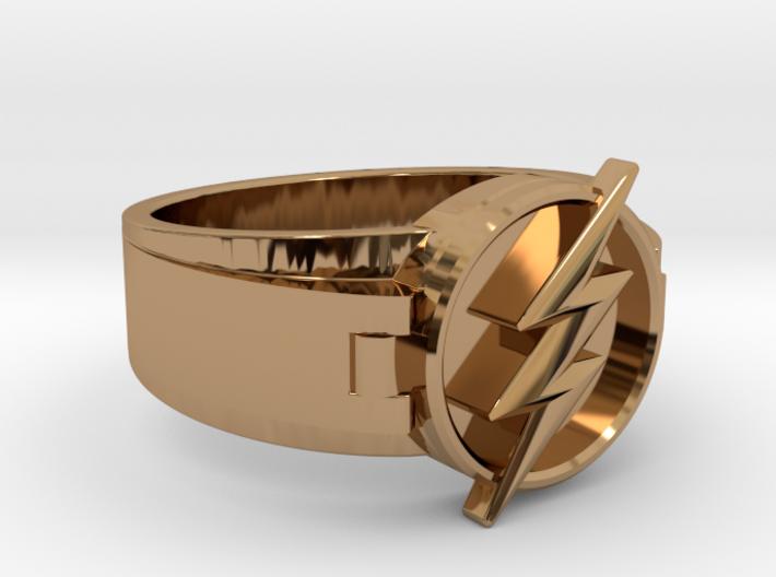 V2 Flash Ring Size 11 20.68mm 3d printed