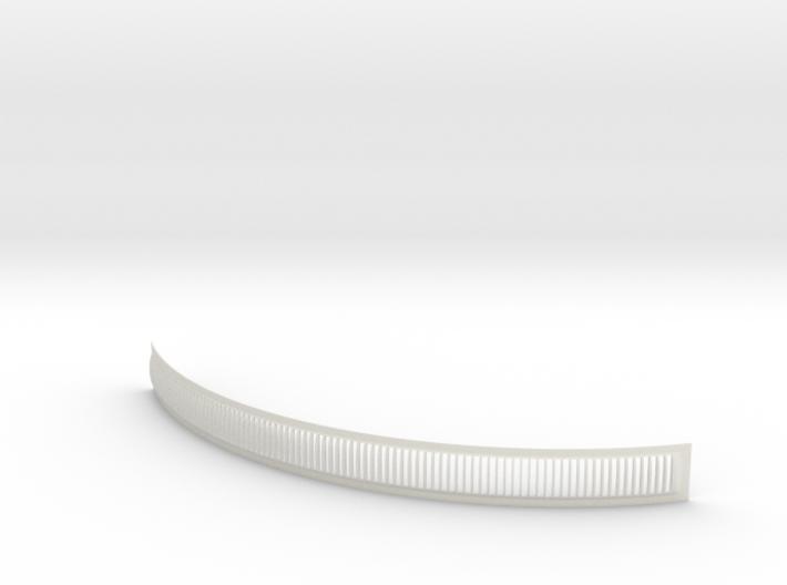 DeAgo Millennium Falcon Engine Grill fins curve 3d printed