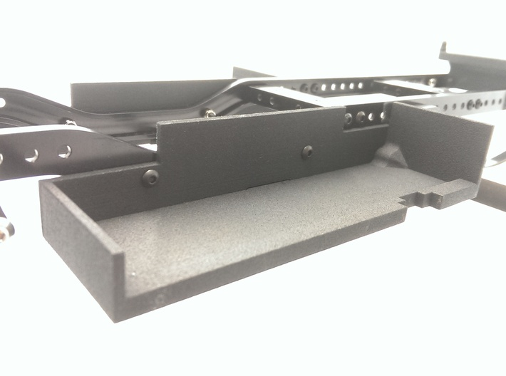 CMAX+Hilux LEFT Battery Tray 3d printed