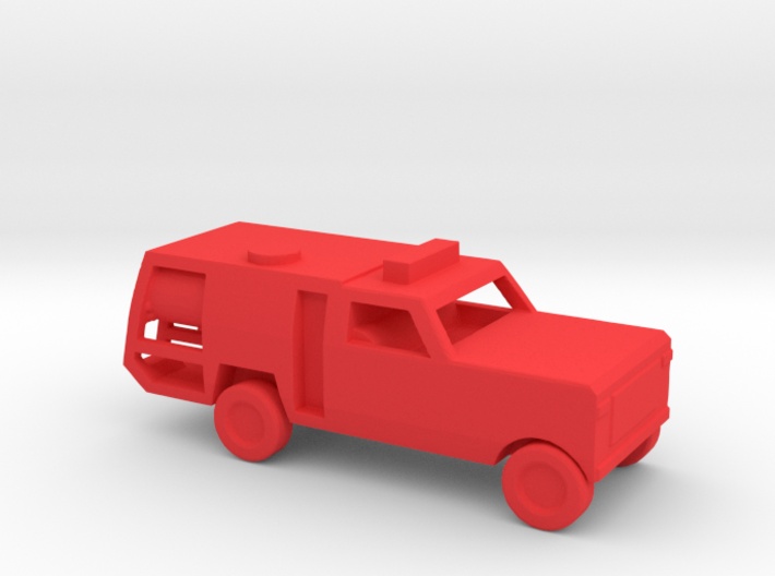 1/144 Scale Dodge Fire Pickup 3d printed