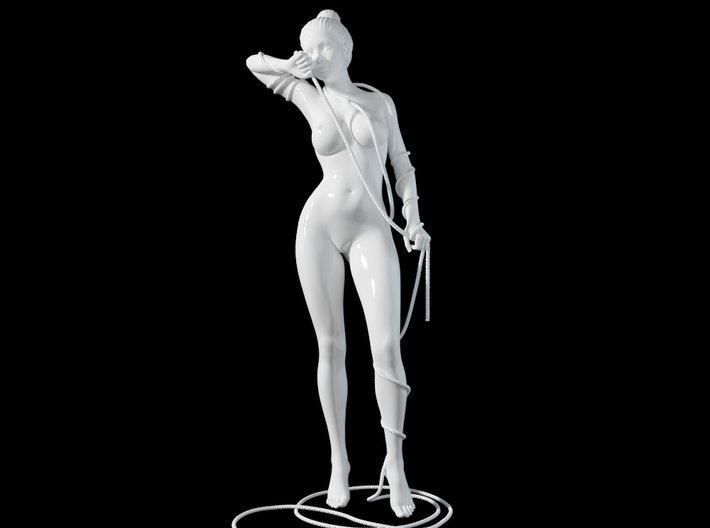 1:20 1:24 Rope with Girl 010 3d printed