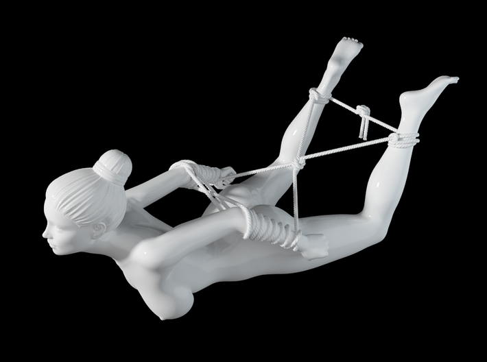 1:20 1:24 Rope with Girl 015 3d printed