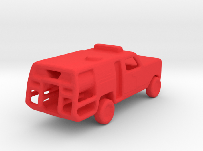1/200 Scale Dodge Fire Pickup 3d printed