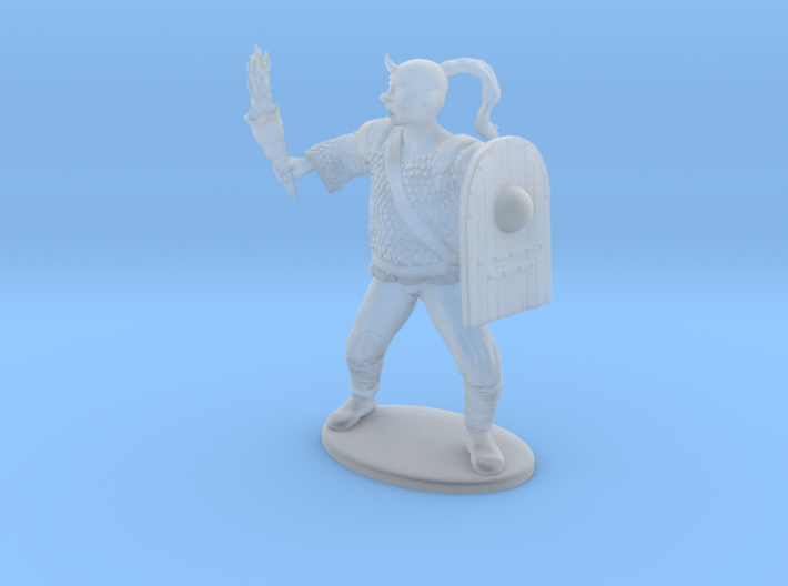 Goblin Miniature (MM Cover) 3d printed